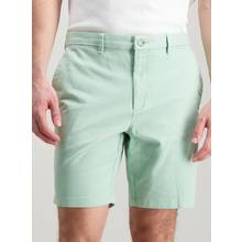 Mint Green Chino Shorts with Stretch