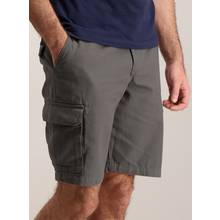 Online Exclusive Grey Cargo Shorts