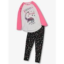 Multicoloured Dino Disturb Pyjamas (2-12 Years)