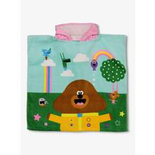 Hey Duggee Multicoloured Hooded Poncho - One Size