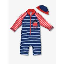 Multicoloured Pirate Sunsafe Swim Set (0-24 months)
