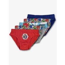 PJ Masks Multicoloured Briefs 5 Pack (2-7 Years)