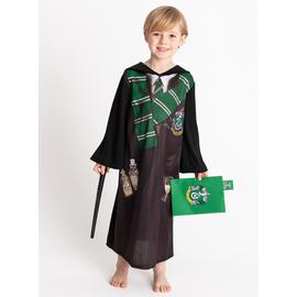Harry Potter Black Slytherin Costume - 5-6 years