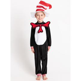 Black Cat In The Hat Costume - 5-6 years