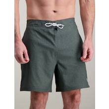 Khaki Marl Board Shorts With Stretch