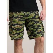 Black Camouflage Cargo Shorts