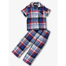 Multicoloured Checked Woven Cotton Pyjamas (1-10 Years)