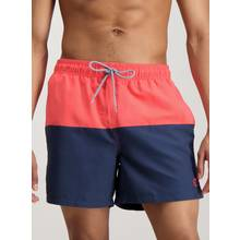 Multicoloured Colour Block Swim Shorts