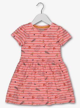 The Gruffalo Pink Striped Dress