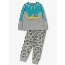 Multicoloured Novelty Dinosaur Pyjama Set (1-10 years)