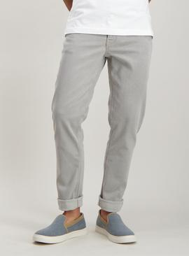Online Exclusive Grey Skinny Fit Jeans With Stretch
