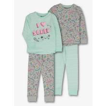 Multicoloured 'I Love Sleep Pyjamas' (1.5 -12 years)
