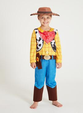 Disney Toy Story Multicoloured Woody Costume - 2-3 years