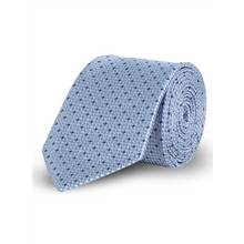 Online Exclusive Light Blue Geometric Tie - One Size