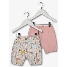 Multicoloured Safari Print Shorts 2 Pack (0 - 24 months)