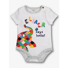 Elmer Multicoloured Bodysuit (0-24 Months)