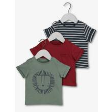 Multicoloured T-Shirts 3 Pack (0-24 months)