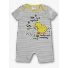 'That's Not My Chick' Grey Romper (Newborn -24 Months)