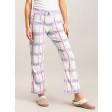 Multicoloured Stripe Fleece Pyjama Bottom