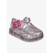 Multicoloured Glitter Baby Jelly Shoes