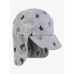 d365c51fb89 Grey Marl Cactus Print Keppie Hat (0-2 Years)