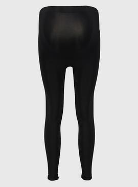 Maternity Black 200 Denier Opaque Leggings
