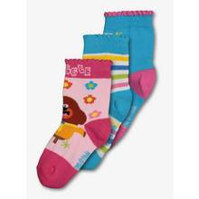 Hey Duggee Multicolour Ankle Socks 3 Pack (3 Infant - 12 Inf