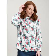 Multicoloured Floral Print Blouse