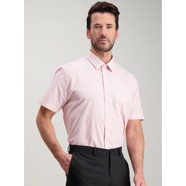 Pink Easy Iron Tailored Fit Shirts 2 Pack