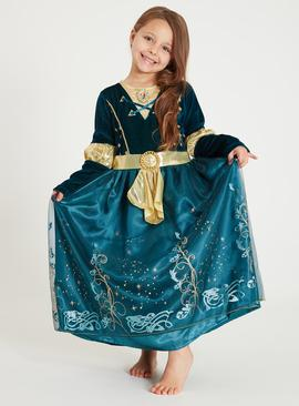 Online Exclusive Disney Princess Merida Green Costume - 9-10