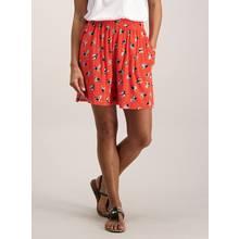 Orange Toucan Printed Shorts