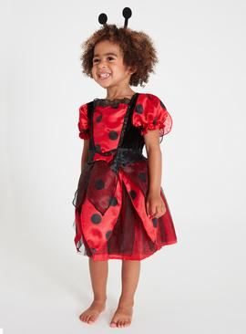 Online Exclusive Red Ladybird Costume Set - 3-4 Years