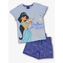 Disney Princess Jasmine Blue Shortie Pyjama Set (18 months -