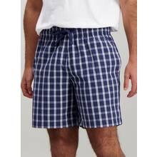 Navy Check Pyjama Shorts