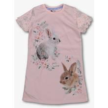 Pink Bunny Nightie (3-12 Years)