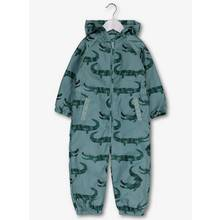 Green Crocodile Shower Resistant Puddlesuit (1-5 Years)