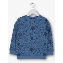 Blue Festival Print Sweatshirt (3-14 years)