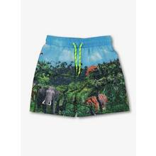 Multicoloured Photographic Safari Swim Shorts (3-12 Years)