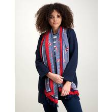 Multicoloured Parasol Print Scarf - One Size
