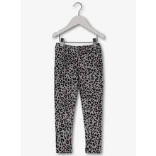 Grey Leopard Print Leggings (3-14 Years)