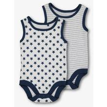 Navy Stars & Stripes Bodysuits 2 Pack (Newborn - 3 Years))