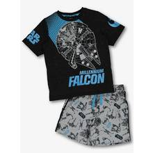 Disney Star Wars Multicoloured Glow In The Dark Pyjama Set (