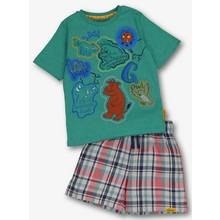Online Exclusive The Gruffalo Green Shortie Pyjamas Set (1-6