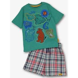 ff0a7407 Online Exclusive The Gruffalo Green Shortie Pyjamas Set