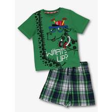 Green Giraffe Shortie Pyjama Set (1.5- 12 years)