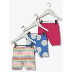 Rainbow Colour Cycle Shorts 3 Pack (9 months - 6 years)