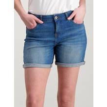 Denim Boyfriend Fit Shorts