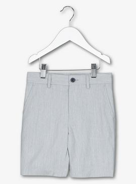 Grey Formal Shorts