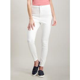 Online Exclusive White High Waisted Skinny Jeans