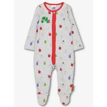 The Very Hungry Caterpillar Grey Sleepsuit (0-24 Months)
